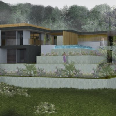 architecte, projet, volume, piscine, creation