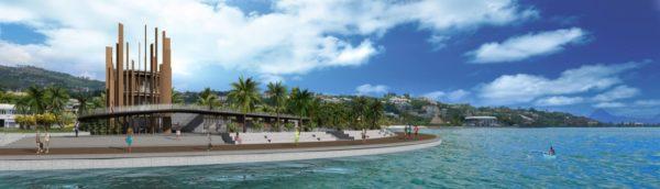 marina de Papeete architecte Polynésie Arnaud Sequier