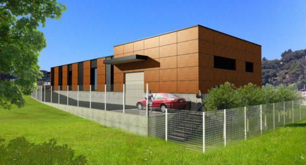 centre medical, architecte, tertiaire, capitou, frejus, commercial