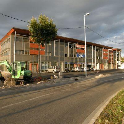 stewardship Service store warehouse by Arnaud Sequier architect Frejus modern