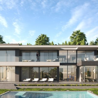 villa, renovation, projet, architecte