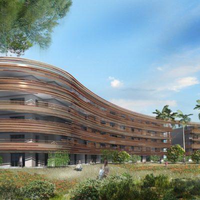 millennium Frejus immeuble moderne qualité plan architecte Arnaud Sequier