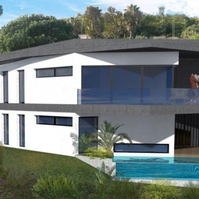 maison, architecte, piscine, Esterel, cote d'azur