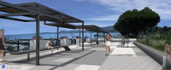 architecte, public, espace, issambres, var, plan