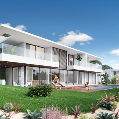 villa, volume, golf, architecte, cote d'azur
