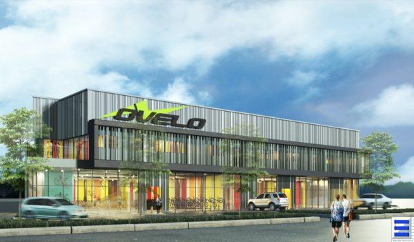 Ovelo, magasin dessiné par architecte Arnaud Sequier à Frejus antibes cannes mandelieu